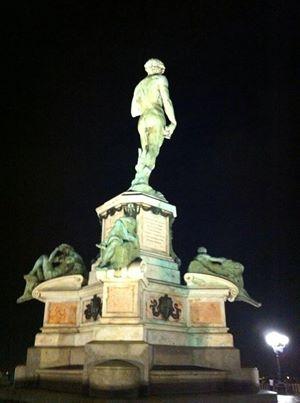 Florence by night #david #art
