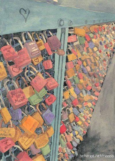 padlock sign