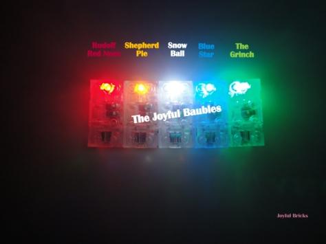 The Joyful Baubles In Darkness